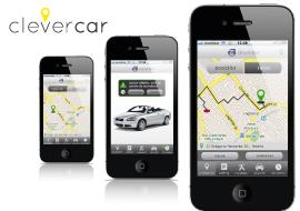 diseño de aplicacion iphone y android de geoposicionamiento de vehículos