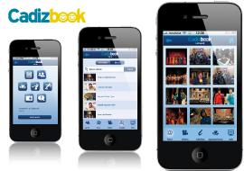 desarrollador de aplicaciones móviles, diseño realizado por vanadis para cliente cadizbook