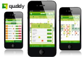 desarrollo de aplicación móvil para android e iphone de cambio de turnos quddy