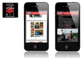 desarrollador aplicacion iphone ipad - trabajo realizado por vanadis para cliente toolkit