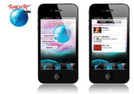 empresa de aplicaciones móviles - desarrollo realizado para rock in río por vanadis