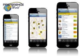 desarrollo de aplicacion movil de geoposicionamiento de ofertas comerciales cercanas para iphone y android