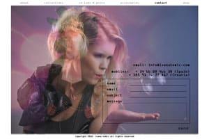 nueva página web 2.0 de diseño creativo para ivana-tomic 3