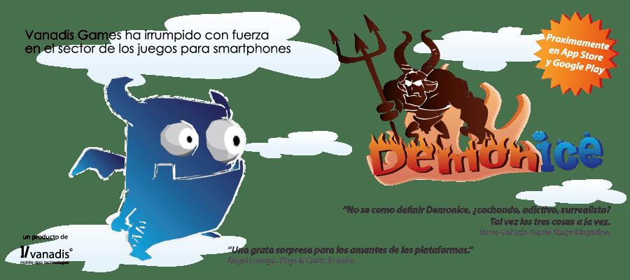 desarrollador de aplicaciones android e iphone - demonice el juego de plataformas para iphone y android