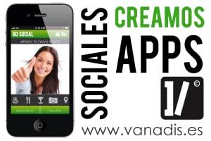 vanadis, empresa de diseño y desarrollo de aplicacion movil de red social para iphone android