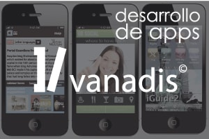 diseno de aplicaciones moviles, empresa vanadis de desarrollo iphone android