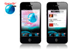 empresa de aplicaciones móviles iphone android ipad - diseño por vanadis para rock in río