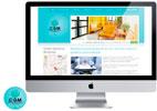 diseño creativo de página web para móviles de contenido multimedia para la empresa residencia miraflores