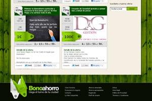 web para móviles de diseño creativo para ofertas 3