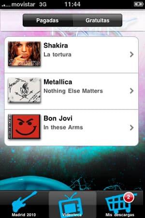 diseño de aplicaciones iphone creativas para rockinrio 2