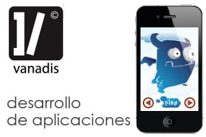 diseño de aplicaciones iphone y android madrid - demonice producto de vanadis