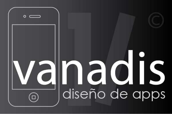 diseño de aplicaciones iphone y android - empresa de programacion en madrid - vanadis