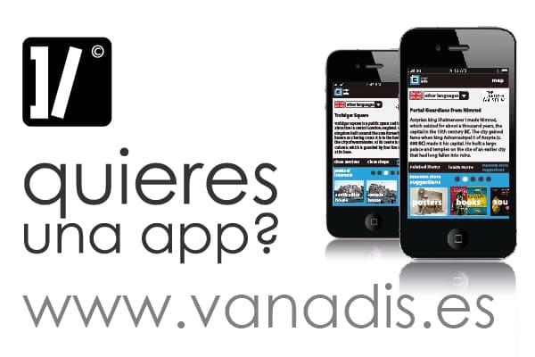 empresa de aplicaciones moviles para iphone y android - desarrollo en madrid - vanadis