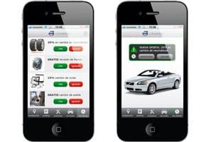 diseño de aplicacion de geoposicionamiento para móviles android e iphone