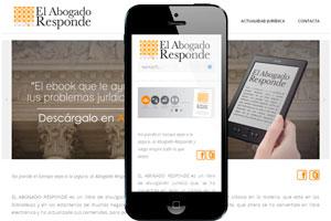 desarrollo de web adaptada para moviles de promocion de contenidos
