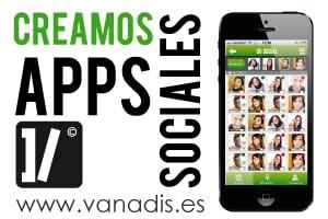 diseño y desarrollo de aplicaciones moviles sociales para iphone android y tablet