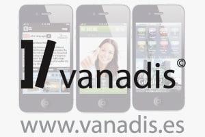 empresa de diseno y desarrollo de aplicaciones moviles iphone y android, vanadis