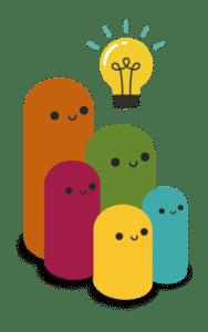 Iconos de ejemplo de gamificación