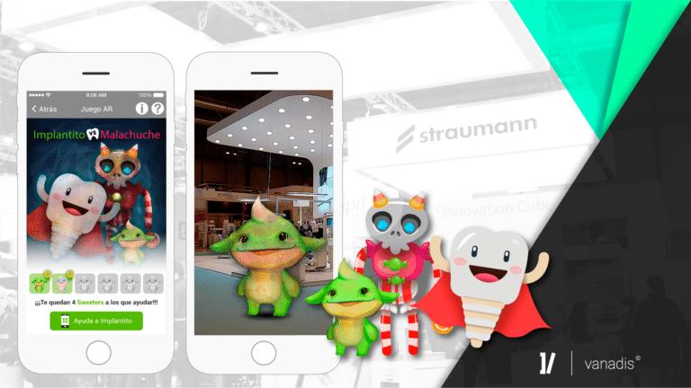 app gamificación, app de gamificación, app Straumann, casos éxito Vanadis, Straumann dental, expodental 2018, straumann clínicas dentales, vanadis apps, desarrollo apps, gamificación